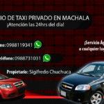 Taxi Privado Machala